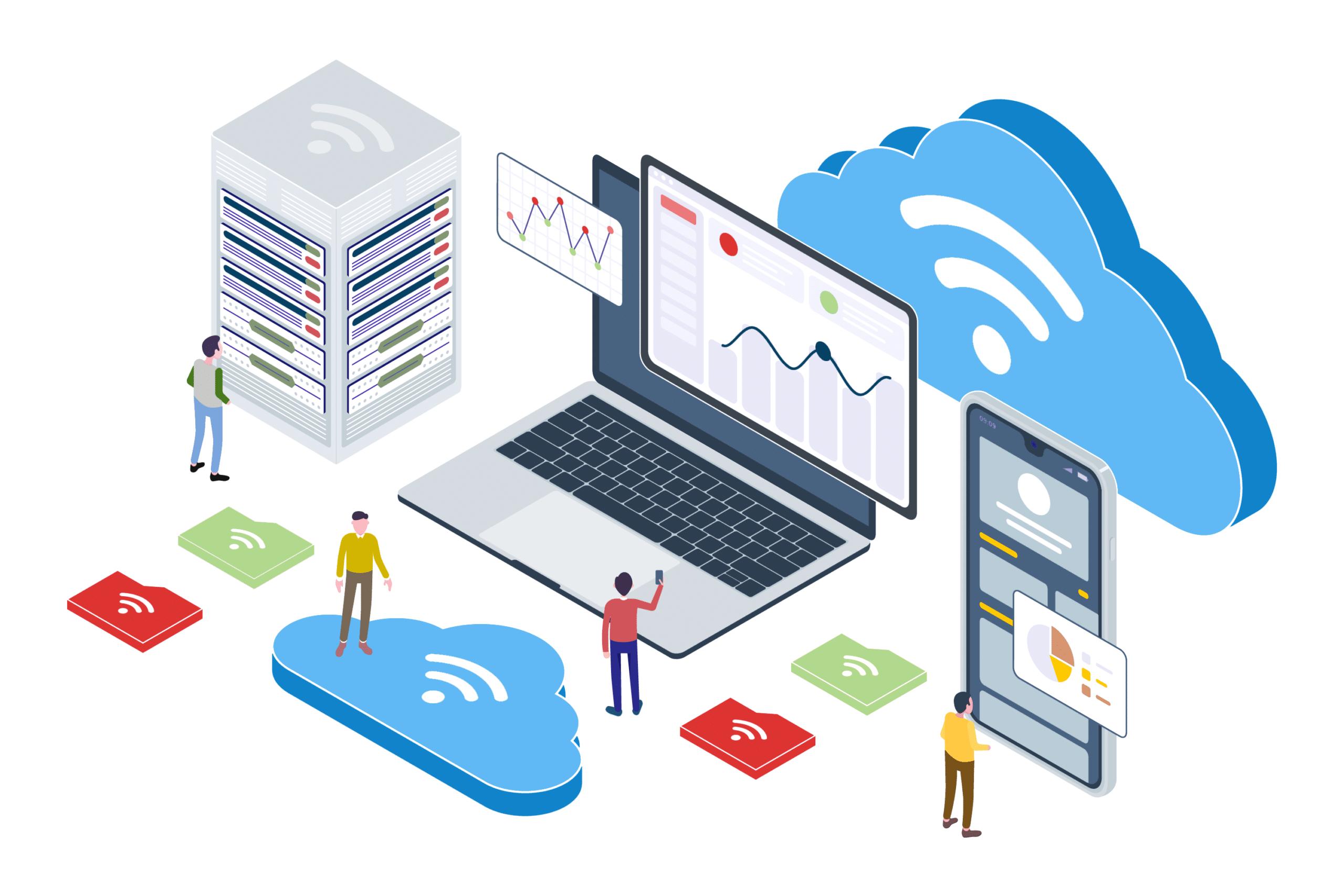 A hosting, a korlátlan adatforgalom és a rendelkezésre állás.