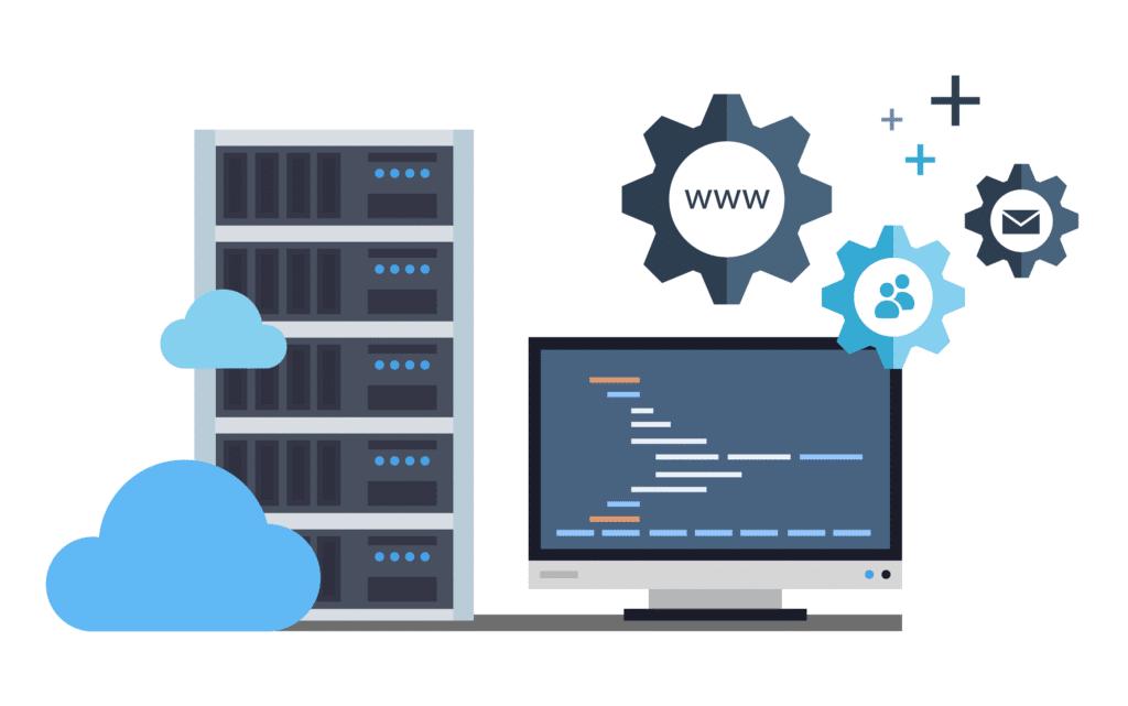 A szerverek, a hosting és az internet fontossága, egy honlap esetében.