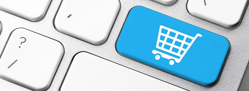 Az online vásárlás, a webshopok jelentőségét mutatja be.